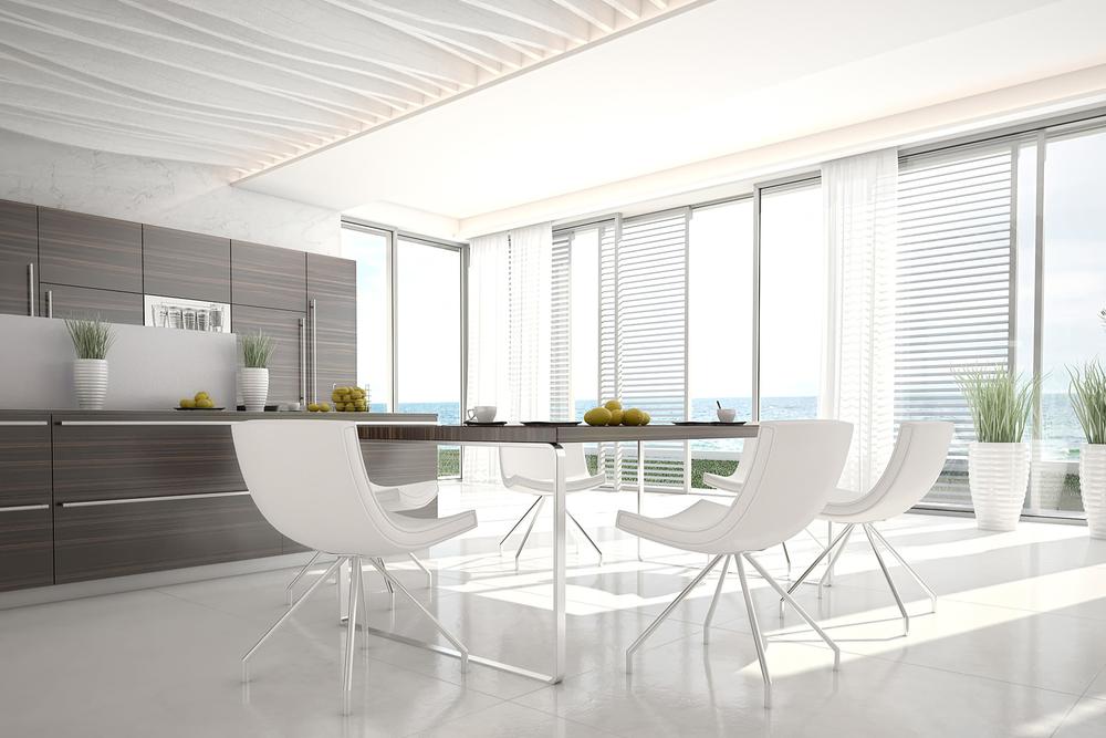 Comedores modernos for Diseno de interiores modernos fotos