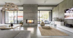 Decorar el interior de la casa con estilo moderno