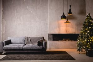 Fotos salas modernas con chimenea