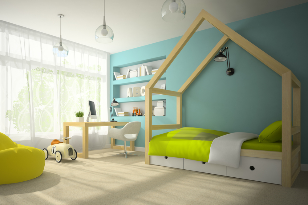 Habitaciones infantiles modernas for Modelos de habitaciones infantiles