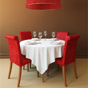 Mesas de comedor redondas