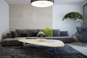 Mesas modernas de salas de estar