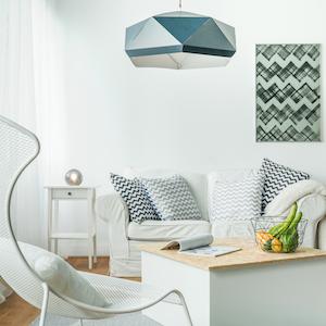 Salas de estar pequeñas modernas
