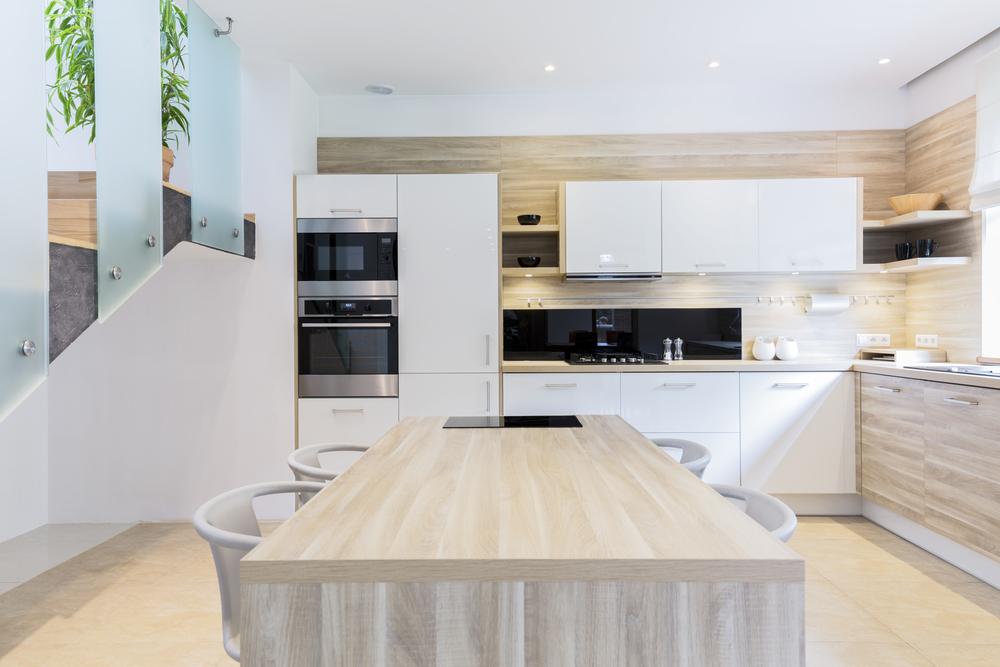 Cocinas modernas for Fotos de cocinas grandes