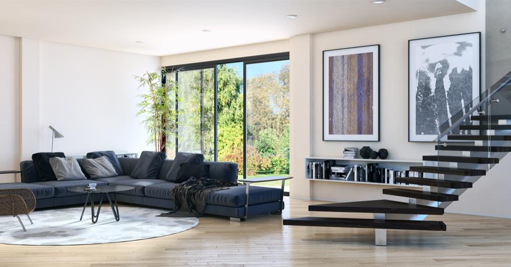 a pesar de lo que se piensa conseguir interiores modernos y actuales en los que lo funcional y prctico se unen para crear ambientes con este estilo - Decoracion Moderna