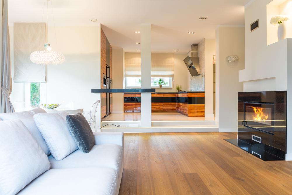 Modelo de salas modernas modelo interior sala y cocina for Modelos de salas modernas