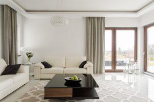 iluminación de salas de estar modernas