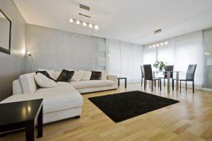 iluminación en las salas de estar modernas