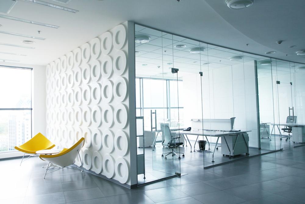 Oficinas modernas for Fotos de oficinas modernas