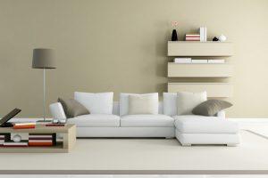 sofás en salas modernas