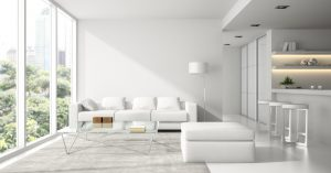 vivienda con interiores modernos
