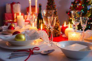Como decorar una mesa de comedor en navidad