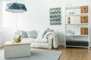 Decoración de sala moderna minimalista
