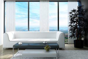 Ideas cortinas para salas modernas