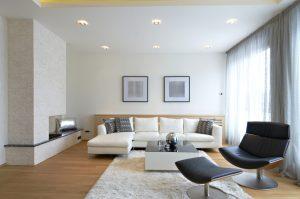 Iluminación de salas modernas