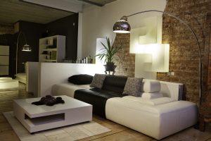 Iluminación para salas modernas
