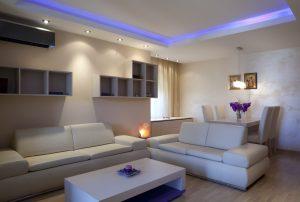Iluminación salas modernas