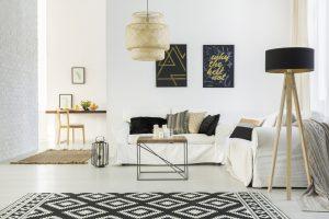 Mesa para salas moderna