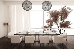 Mesas de comedor modernas y elegantes