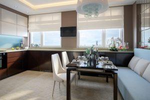 Mesas de comedores modernos