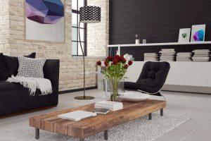 Muebles para salas modernas y acogedoras