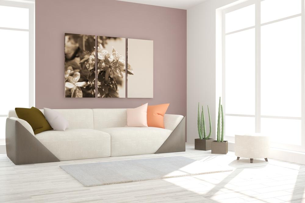 Pintura de salas modernas for Interiores de salas modernas