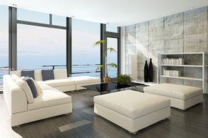 Pintura de salas estilo moderno