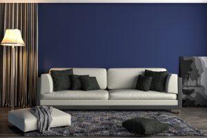 Pintura de salas modernas y acogedoras