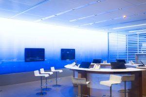Sala de reuniones modernas