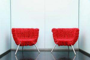 Salas de espera modernas y cómodas
