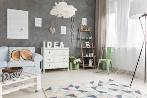 Salas de estar pequeñas modernas y originales