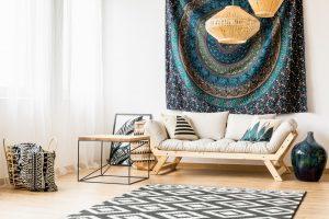 Salas de estar pequeñas y prácticas