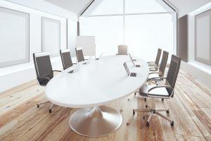 Salas de reuniones modernas minimalistas