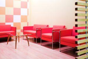 Salas espera modernas