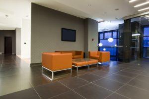 Salas modernas de espera