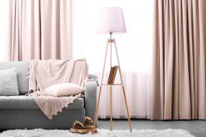 cortinas de salas modernas