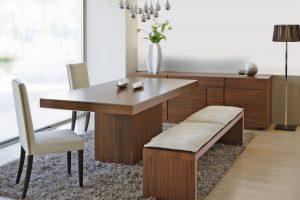 mesa de comedor de madera grande