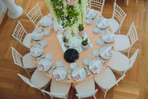 mesas comedor redondas acristaladas