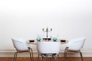 mesas redondas comedor