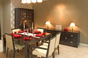 mueble de comedor estilo moderno