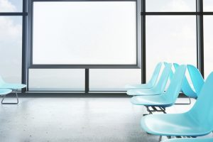 salas de espera modernas cómodas