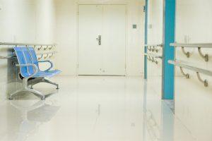 salas de espera modernas y minimalistas