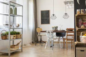vitrinas para comedores modernos