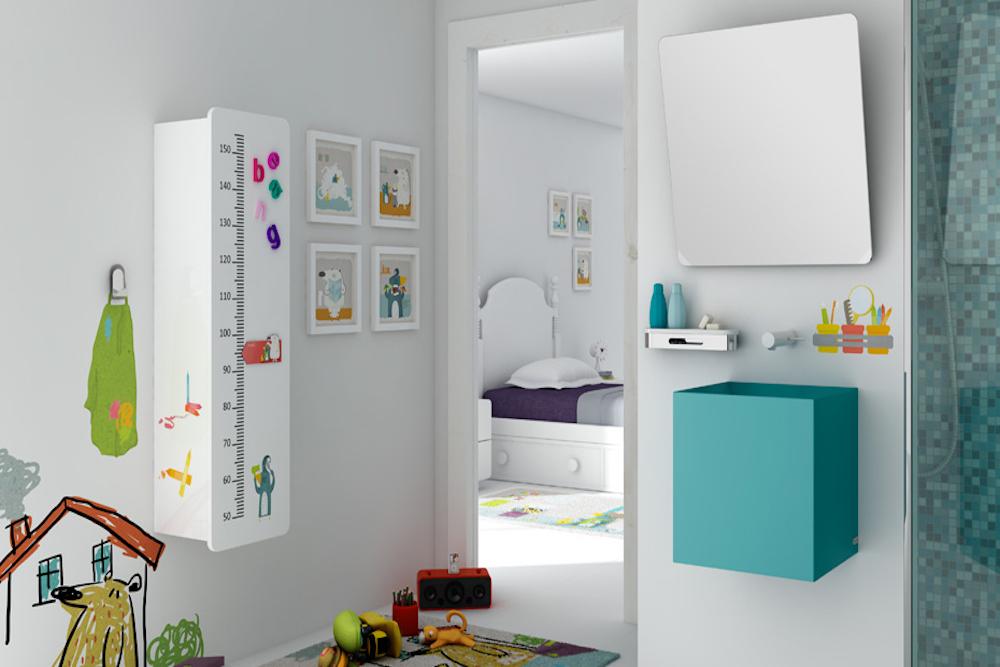 ideas para decorar baños de niños